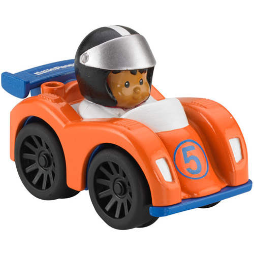 Fisher-Price Little People Wheelies Vehicle, Formula Racer