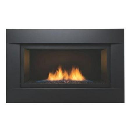 Sierra Flame PALISADE-36-NG 36 in. See-Thru Palisade Linear Direct Vent Gas Fireplace - Natural Gas See Thru Natural