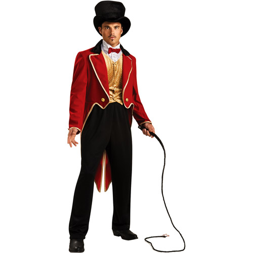 Ring Master Adult Halloween Costume - One Size