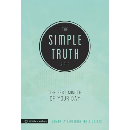 The Simple Truth Bible : The Best Minute of Your Day (365 Daily Devotions for