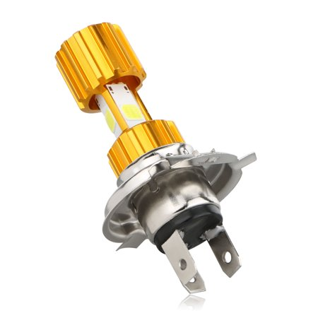 H4 LED COB Motorcycle Bike Hi/Lo Beam Headlight Lamp Bulb DC 12V 6500K