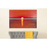 Safavieh Sanibel Sunset Diptych Wall Art, Assorted