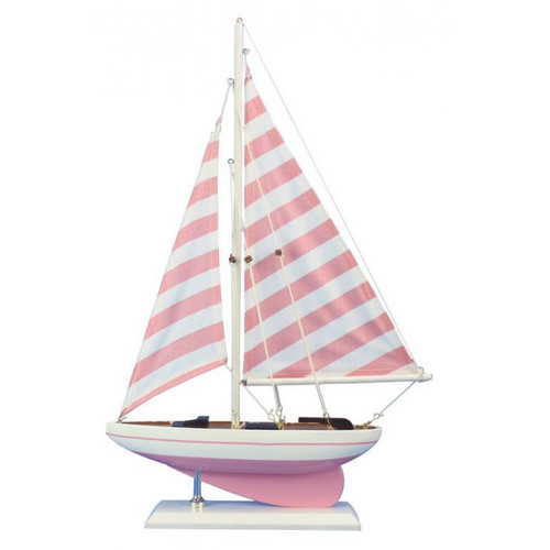 Handcrafted Nautical Decor Nautical Delight Model Sailboat by Handcrafted Nautical Decor