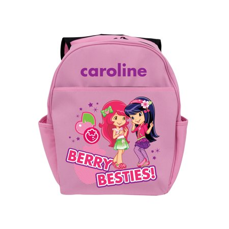 Personalized Strawberry Shortcake Cherry Jam Pink Youth Backpack