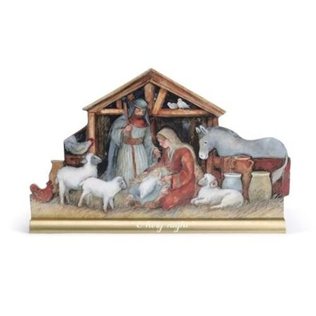 O Holy Night Nativity Scene Mantel Christmas Figurine Decoration 2020170434 New - Christmas Scene Decorations