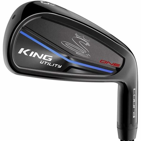 cobra 76308 right hand king utility black one length iron golf club - graphite (1 Iron Golf Club)