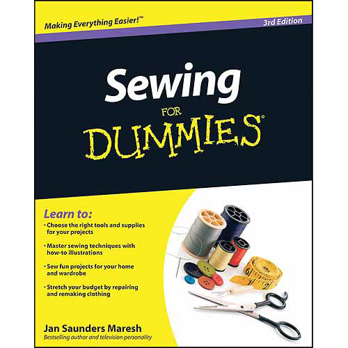 Wiley Publishing, Sewing for Dummies 3rd Edition