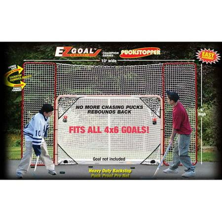 EZgoal Monster Hockey Puckstopper Backstop Rebounder and 4 Targets