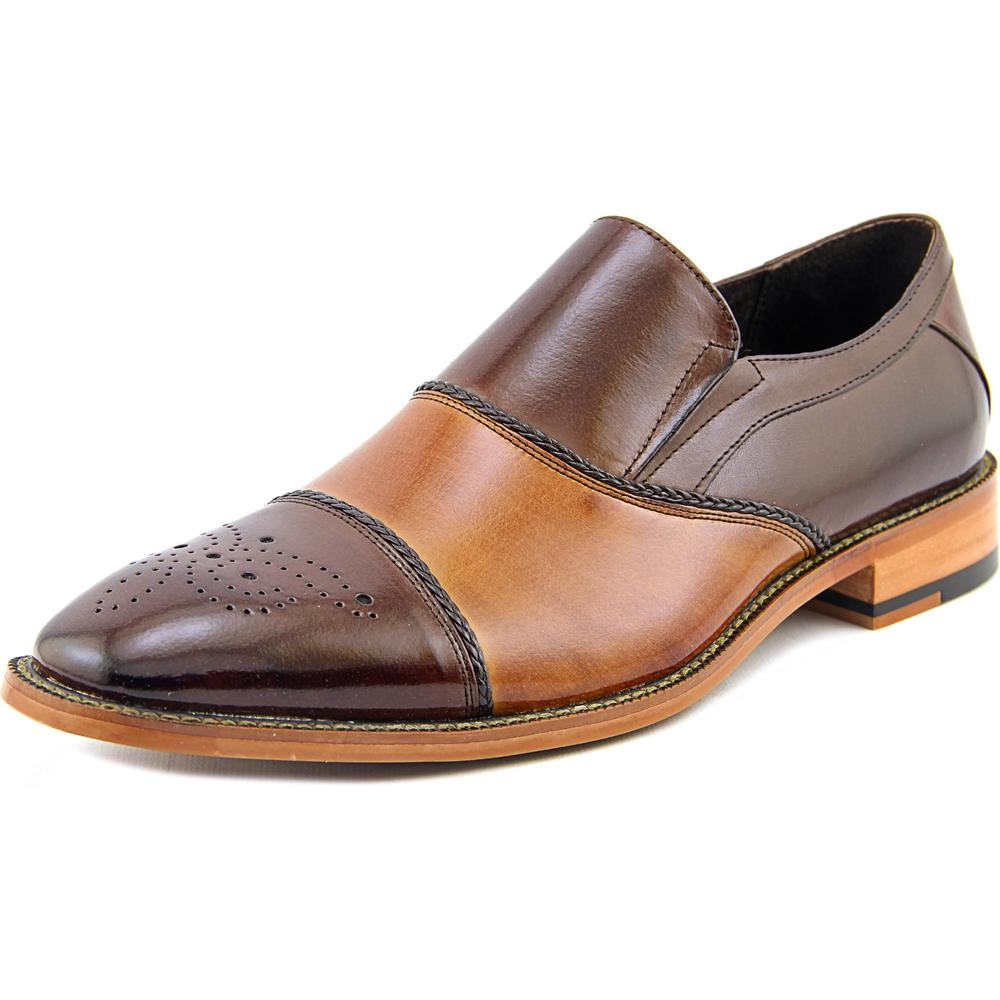 Stacy Adams Brecklin Men Cap Toe Leather Tan Oxford by Stacy Adams