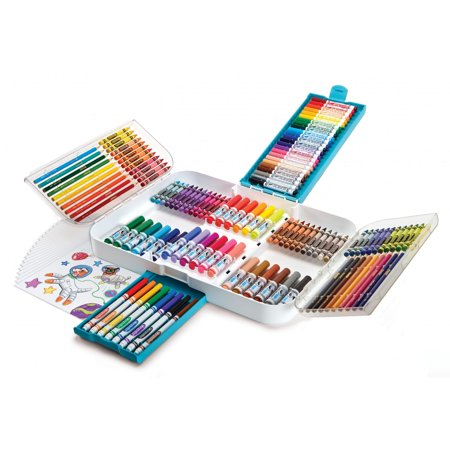 Crayola Ultra Smart Case, Coloring And Art Supplies, 150 Pieces - Online Art Supplies