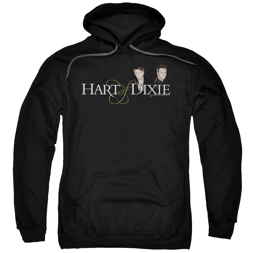 HART OF DIXIE/LOGO-ADULT PULL-OVER HOODIE-BLACK-MD