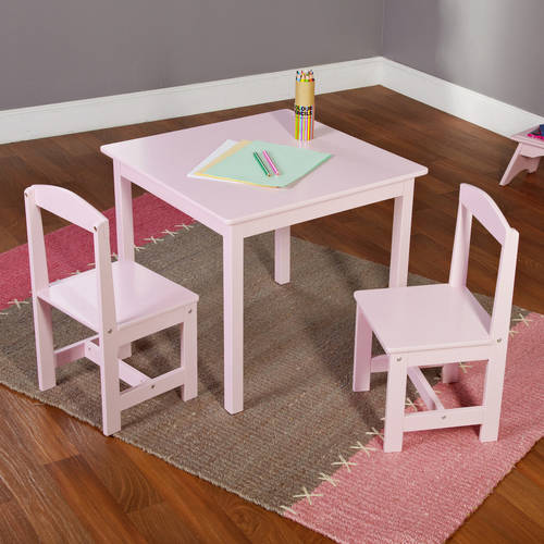 Hayden Kids 3-Piece Table and Chair Set Multiple Colors : kids table chair set - pezcame.com