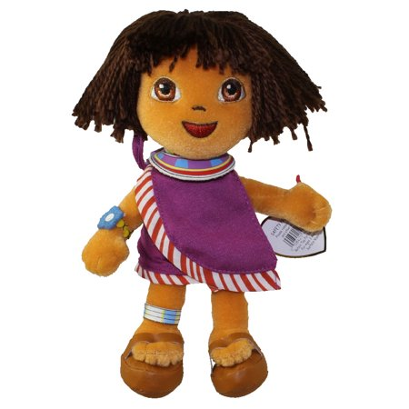 TY Beanie Baby - DORA the Explorer (Tanzania Version) (7.5