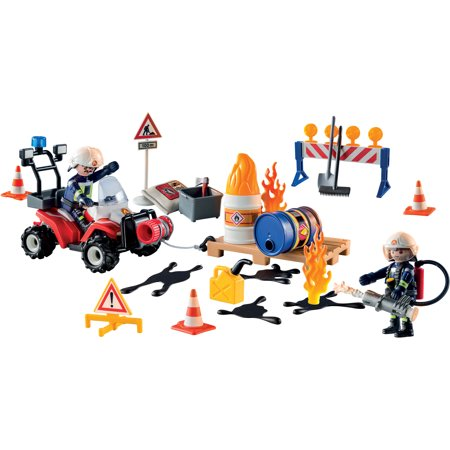 PLAYMOBIL Advent Calendar - Construction Site Fire Rescue ()