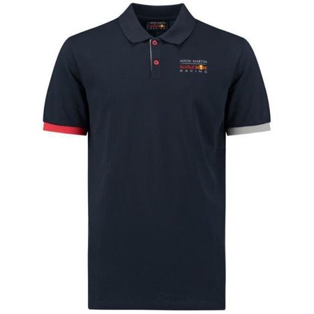 Red Bull Racing Formula 1 Men's Blue Authentic 2018 Polo F1 (Formula 1 Racing)