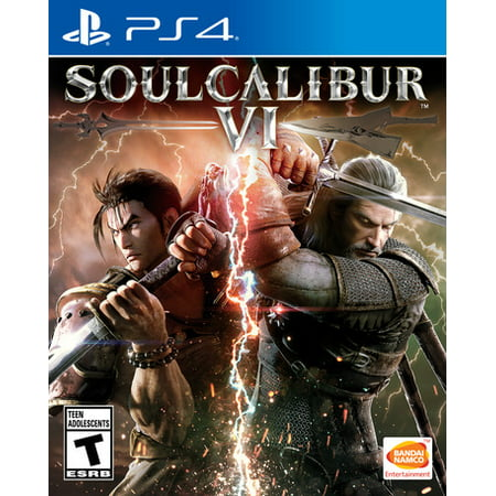 SOULCALIBUR VI, Bandai/Namco, PlayStation 4, 722674120791 (Wings Of Vi Game)