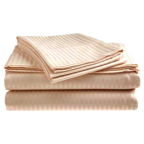 Textiles Plus Inc. Hotel Stripped Pillow Case (Set of 2)