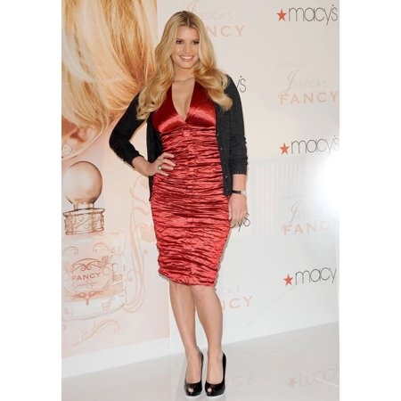 Jessica Simpson At In-Store Appearance For New Fragrance Launch Fancy By Jessica Simpson MacyS In South Coast Plaza Costa Mesa Ca December 13 2008 Photo By Dee CerconeEverett Collection Celebrity ()