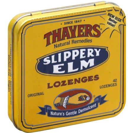 Thayer Lozenge Elm Slippery, 42 PC (Pack of 10)