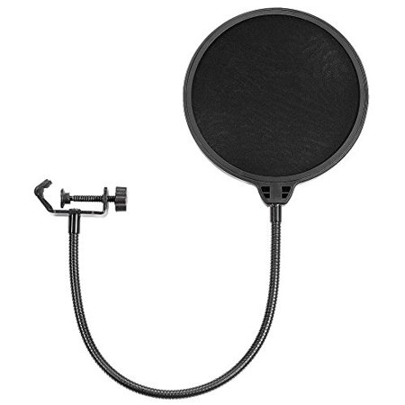 Neewer NW(B-3) 6 inch Studio Microphone Mic Round Wind Pop Filter Mask Shield