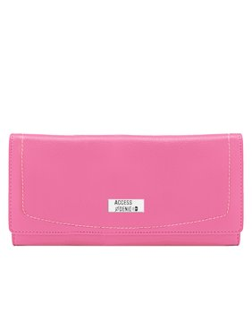 Product Image Genuine Leather Wallets For Women - Ladies Accordion Clutch Wallet With Coin Purse Pocket And ID
