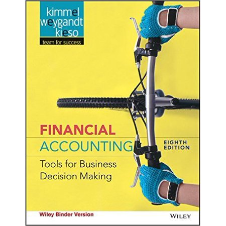 Financial Accounting Tools For Business Decision Making  Eighth Edition Wileyplus Card  9781118953860  Printed Access Code  8Th