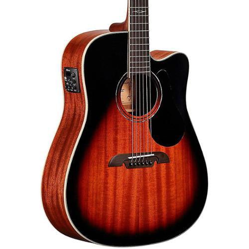 Alvarez AD66CESB Acoustic Electric Guitar Sunburst Finish by