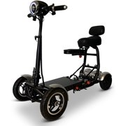 Foldable Lightweight Mobility Scooters for Seniors, Folding Electric Wheelchair Scooter, Medical Health Mobility Aid Power Scooter, Heavy Duty