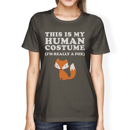 This Is My Human Costume Shirt Womens Cute Halloween Clothes