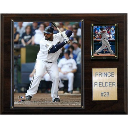 C&I Collectables MLB 12x15 Prince Fielder Milwaukee Brewers Player Plaque ()