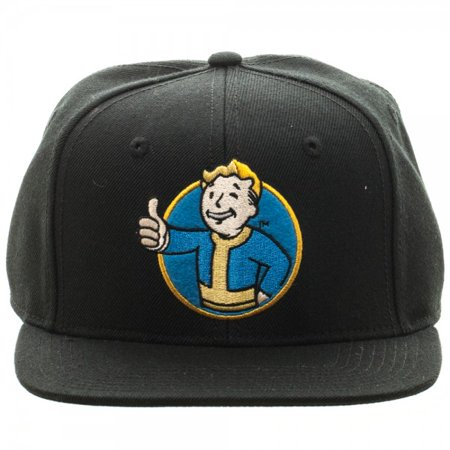 Baseball Cap - Fallout Vault Boy Black Snapback New Licensed sb3jssfof (Fall Out Boy Valentine Cards)