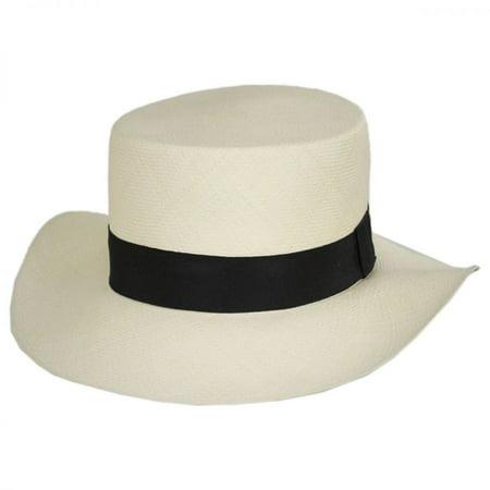 e2f60a06a5996 Jaxon Hats - Montecristi Fino Grade 22 Panama Straw Hat - 62CM - Natural -  Walmart.com