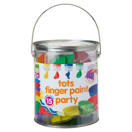 ALEX Jr. Tots Finger Paint Party - Halloween Finger Paint Ideas