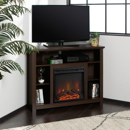 Manor Park Tall Corner Fireplace TV Stand for TV's up to 48
