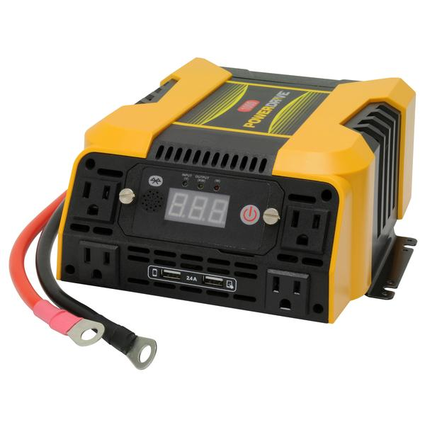 PowerDrive 1000 Watt power Inverter, 4 AC, 2 USB App with Bluetooth PD1000