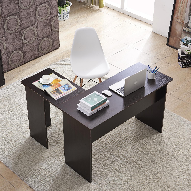 Bon Mcombo L Shaped Desk Corner Desk Home Office Workstation