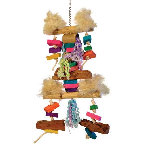 Prevue Pet Products Bodacious Bites Fluff N' Stuff Bird Toy