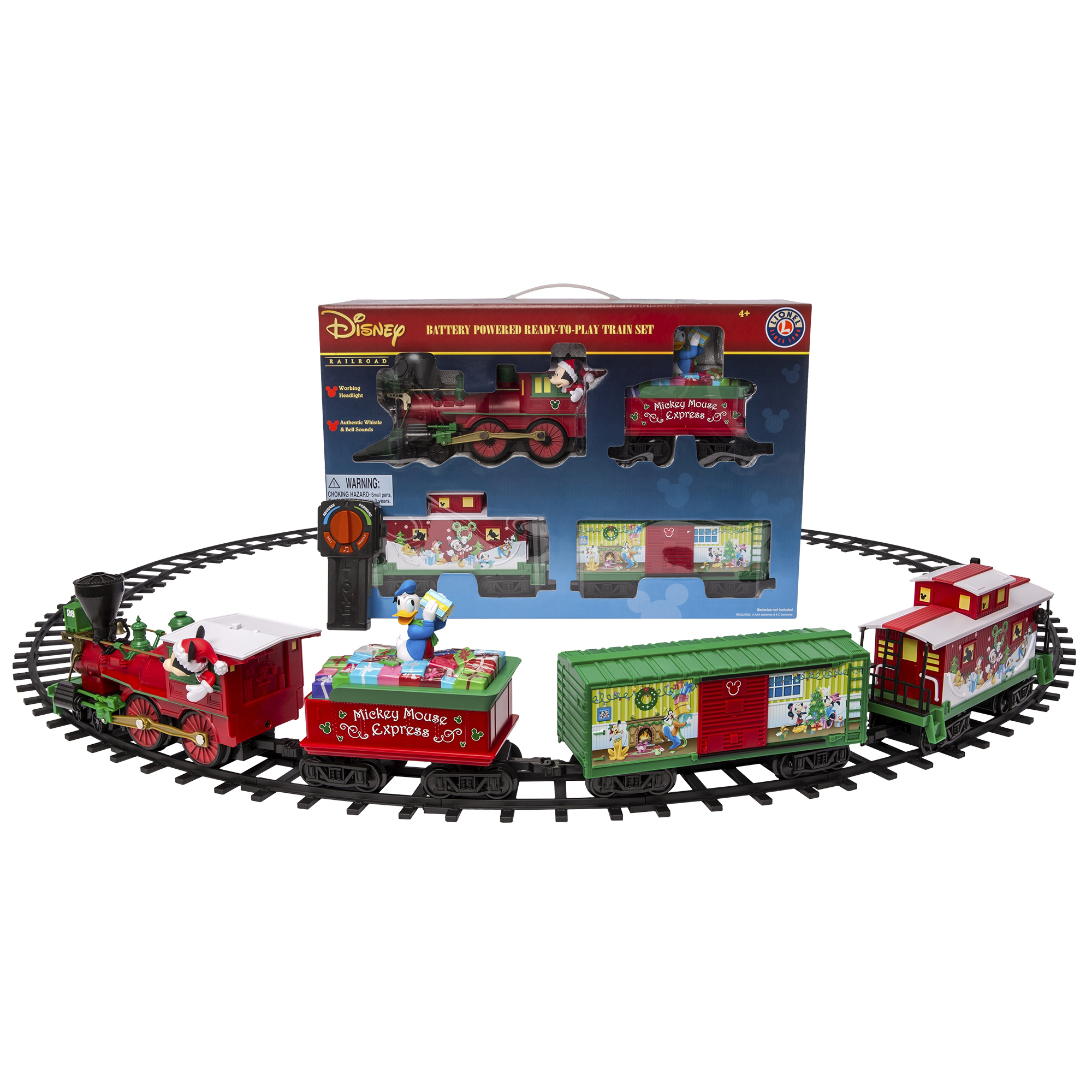 Lionel Trains Mickey Mouse Express Seasonal Ready to Play Set by Lionel, LLC