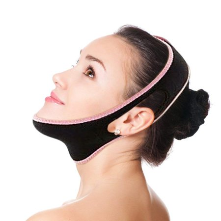 Facial Slimming Strap - Chin Lift Facial Mask - Eliminates Sagging Skin - Anti Aging the Pain Free Way! 100% Satisfaction - Orlane Skin Mask