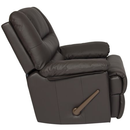 Deluxe Padded PU Leather Recliner Chair - image 3 of 5