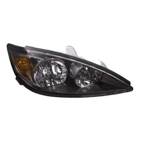 2002-2004 Toyota Camry SE New Black Passenger Headlight TO2503138 (Toyota Camry Lamp)