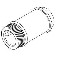 Moen Commercial 3-3/4'' Delany Supply Extension Nipple