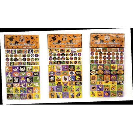 Its in the Bag 54023 Halloween Stickers- 72 Packs of 100 - image 1 of 1