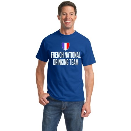French National Drinking Team - French Football Soccer Funny Unisex T-shirt
