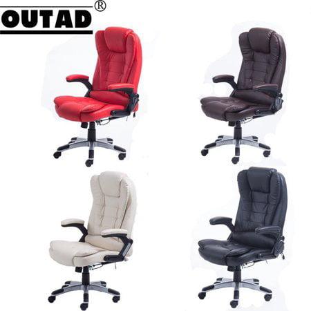 Office Computer Desk Massage Chair 6 Vibration Point