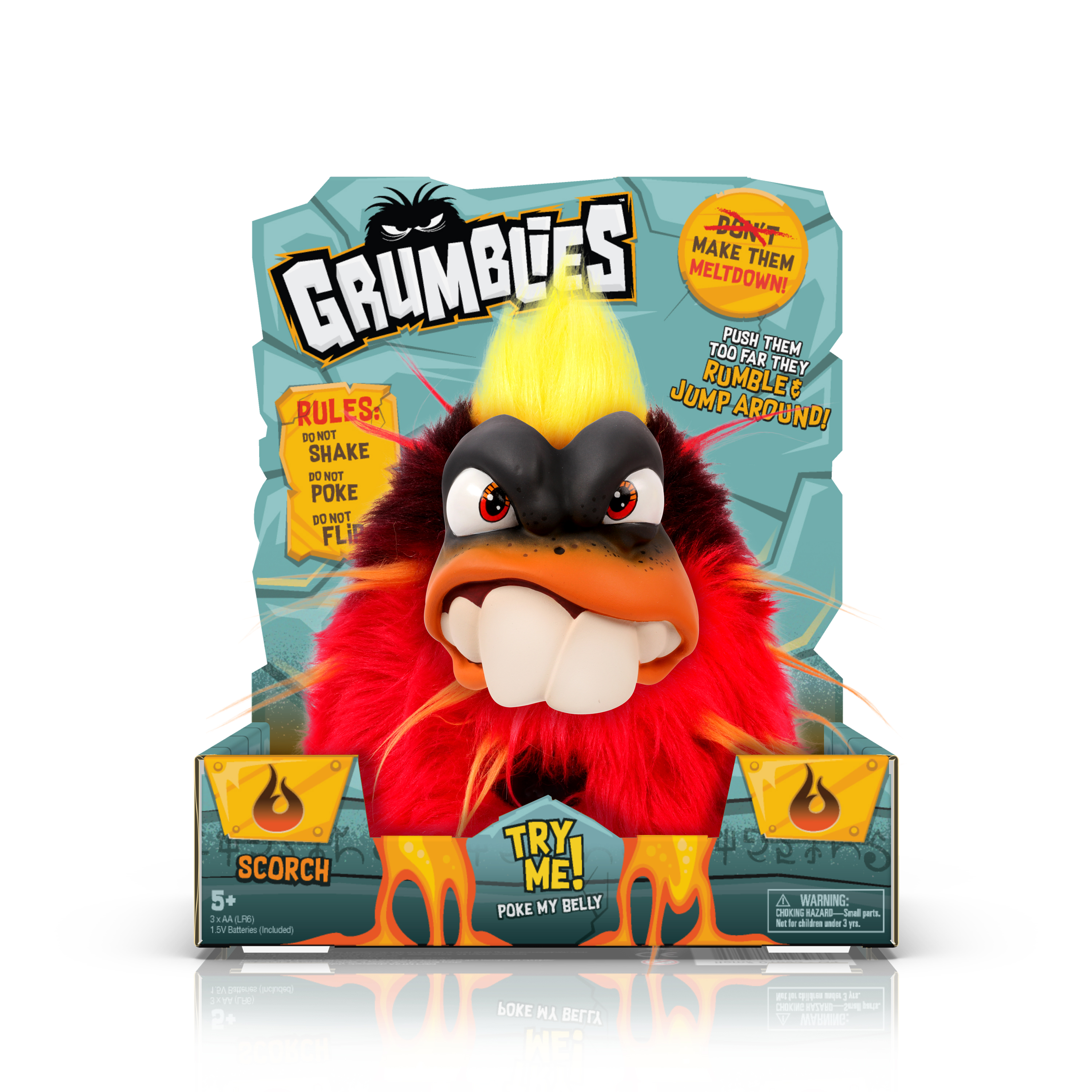 Grumblies Scorch Action Figure