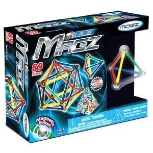Mindscope 89 Pieces Magz Educational Magnetic Building Set