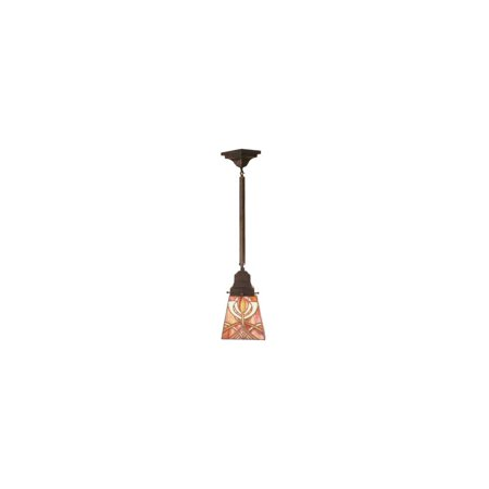 1-Light Glasgow Bungalow Mini Pendant