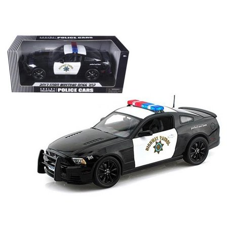 Shelby Collectibles SC460 2013 Ford Mustang Boss 302 Highway Patrol Car  1-18 Diecast Car Model | Walmart Canada