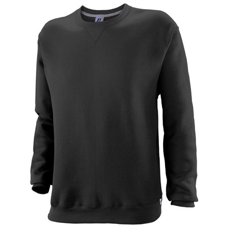 3cf9a566e Russell Athletic - Russell Athletic Mens Dri-Power Fleece Crewneck T-Shirt  - Walmart.com